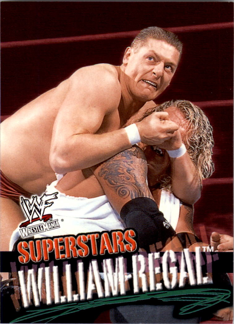 2001 Fleer WWF Wrestlemania #19 William Regal