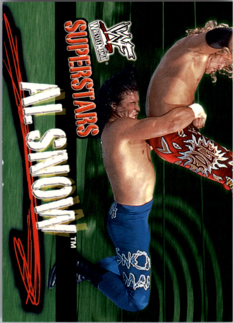 2001 Fleer WWF Wrestlemania #22 Mideon