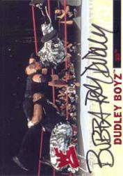 2001 Fleer WWF Wrestlemania Signature Moves Autographs #3 Bubba Ray Dudley