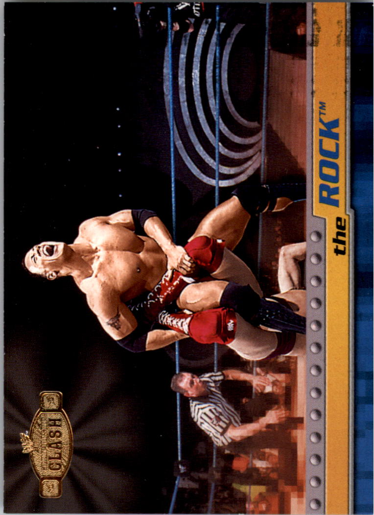 2001 Fleer WWF Championship Clash #1 The Rock