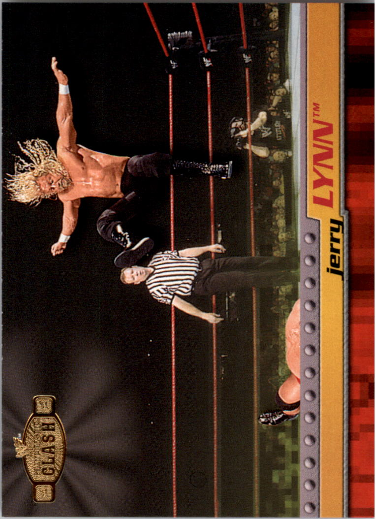 2001 Fleer WWF Championship Clash #5 Jerry Lynn
