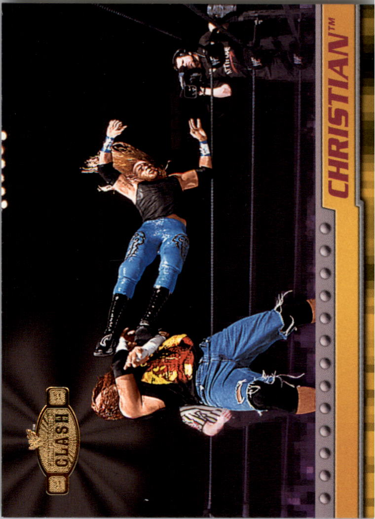 2001 Fleer WWF Championship Clash #6 Christian