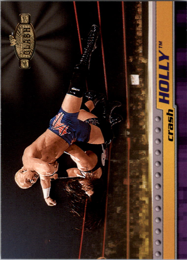 2001 Fleer WWF Championship Clash #10 Crash Holly