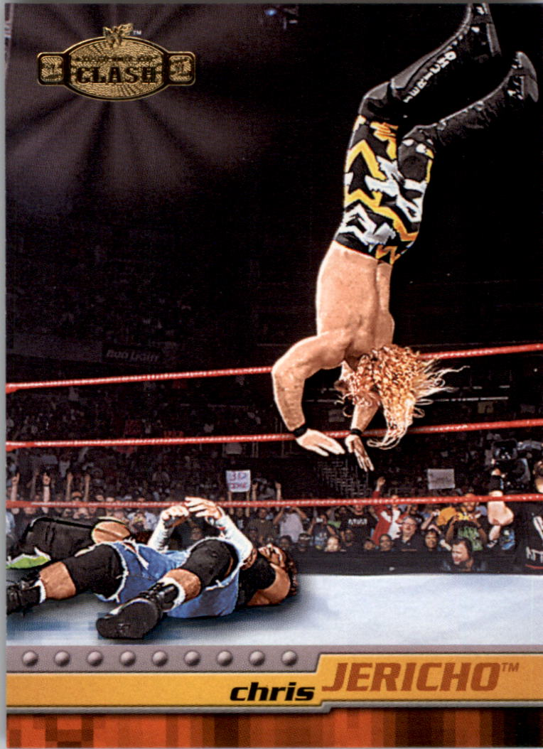 2001 Fleer WWF Championship Clash #21 Chris Jericho