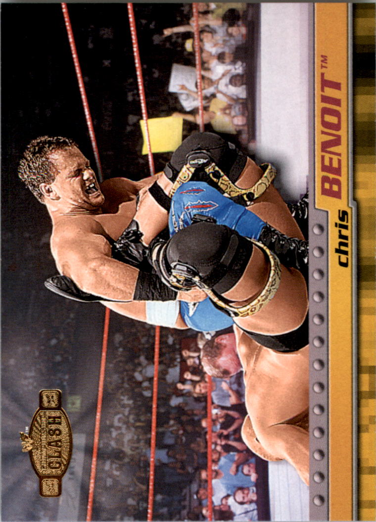 2001 Fleer WWF Championship Clash #24 Chris Benoit