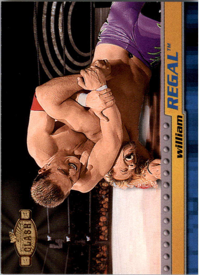 2001 Fleer WWF Championship Clash #25 William Regal