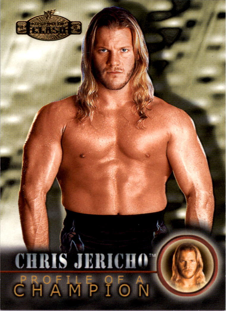 2001 Fleer WWF Championship Clash #61 Chris Jericho PC