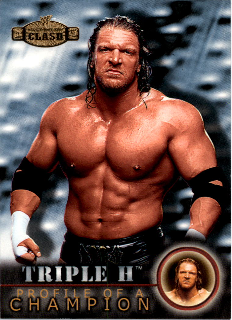 2001 Fleer WWF Championship Clash #69 Triple H PC