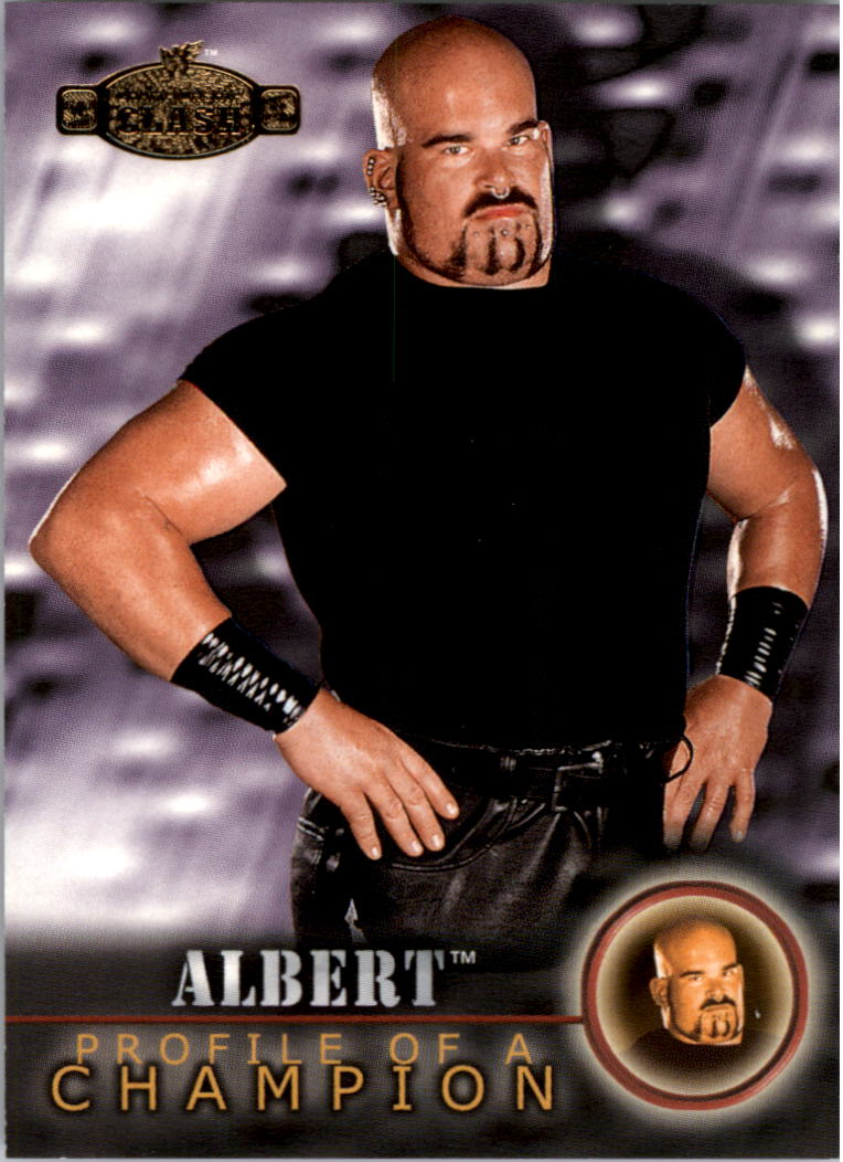 2001 Fleer WWF Championship Clash #70 Albert PC