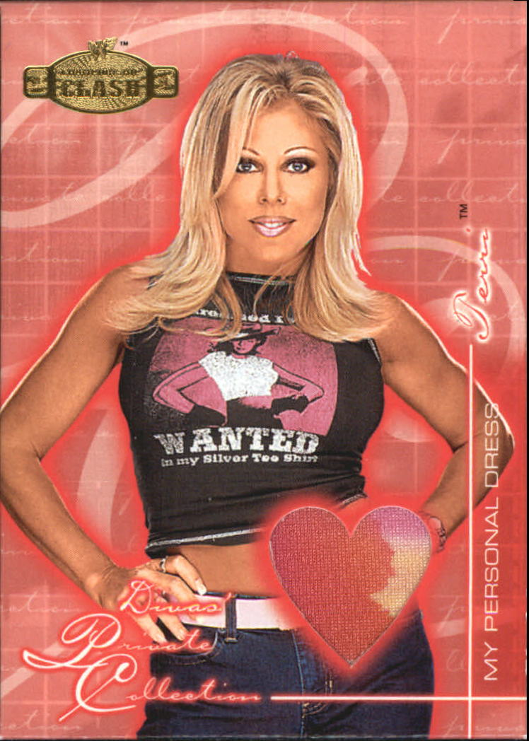 2001 Fleer WWF Championship Clash Divas Private Collection #DPCTE Terri Dress