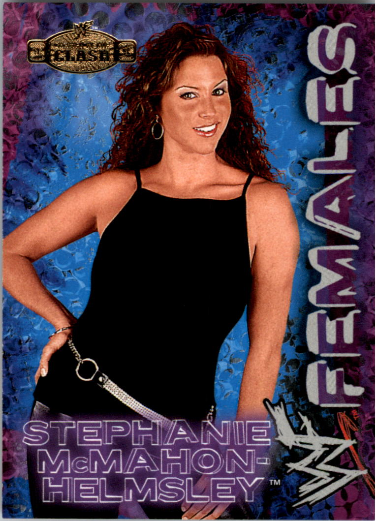 2001 Fleer WWF Championship Clash Females #WF6 Stephanie McMahon