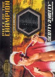 2001 Fleer WWF Championship Clash Piece of the Champion #PCSH Scotty 2 Hotty Pants
