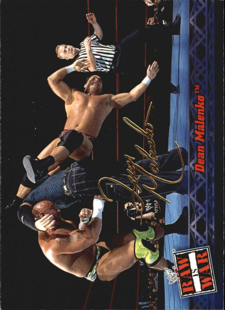 2001 Fleer WWF Raw Is War #4 Dean Malenko
