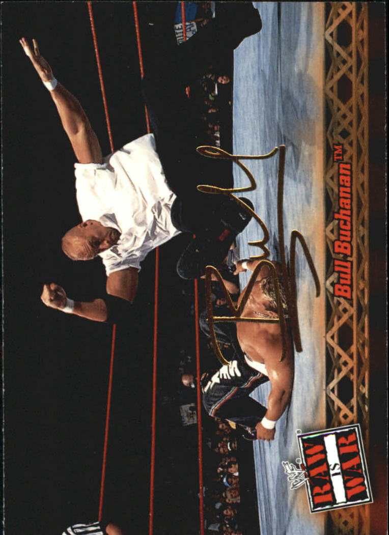 2001 Fleer WWF Raw Is War #9 Bull Buchanan