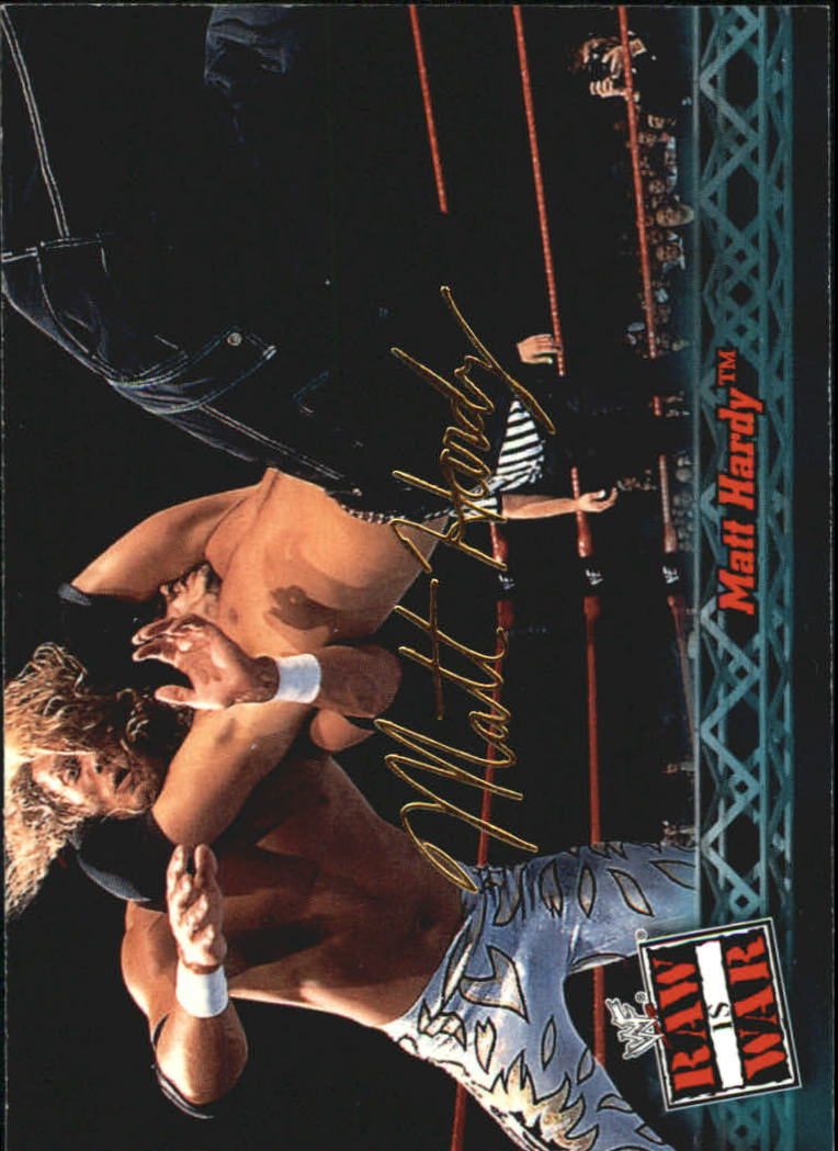 2001 Fleer WWF Raw Is War #13 Matt Hardy