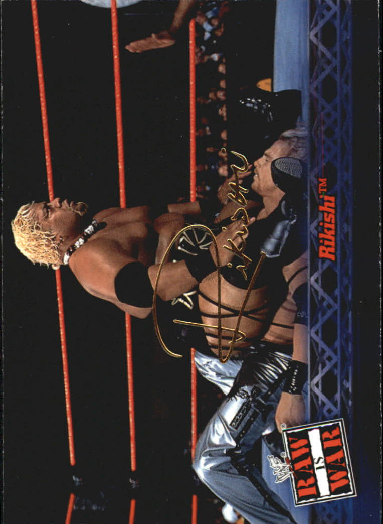 2001 Fleer WWF Raw Is War #14 Rikishi