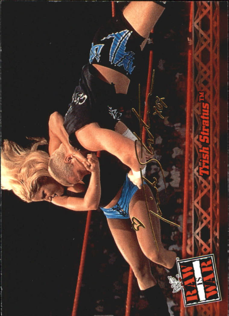 2001 Fleer WWF Raw Is War #17 Trish Stratus