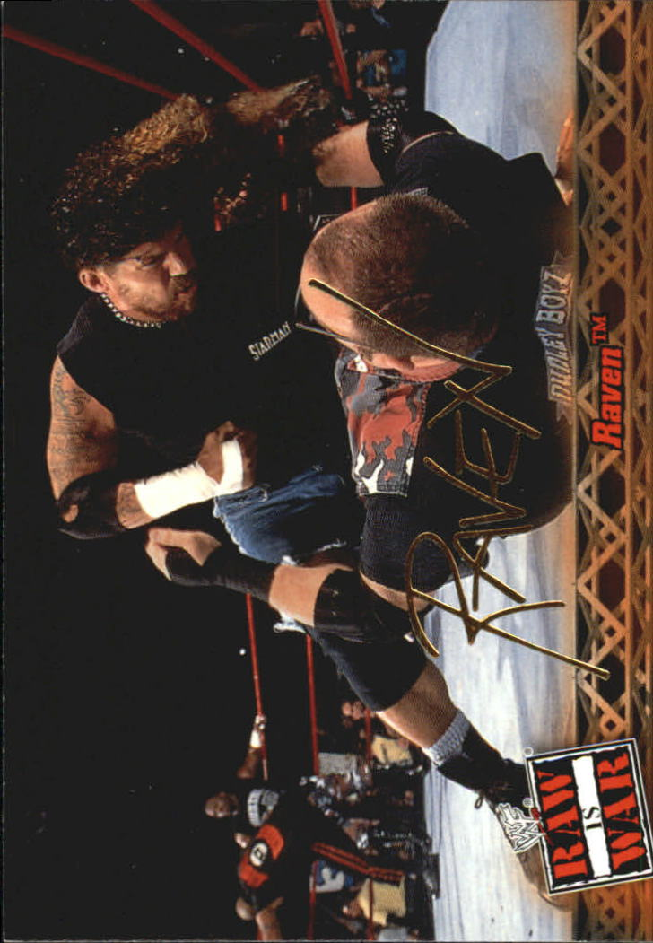 2001 Fleer WWF Raw Is War #19 Raven