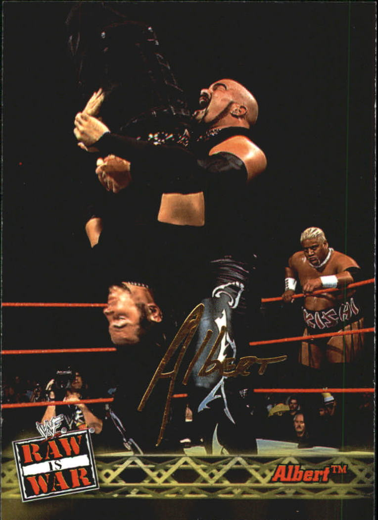 2001 Fleer WWF Raw Is War #20 Albert