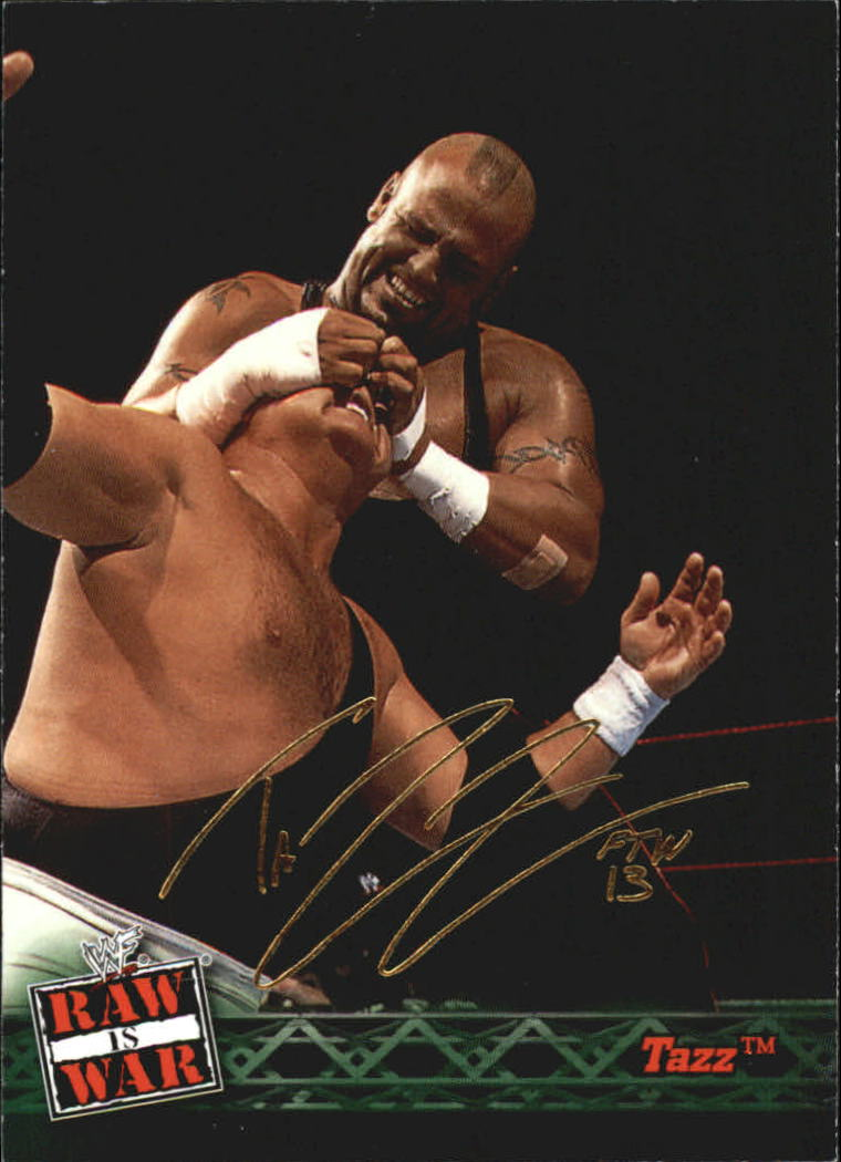2001 Fleer WWF Raw Is War #22 Tazz