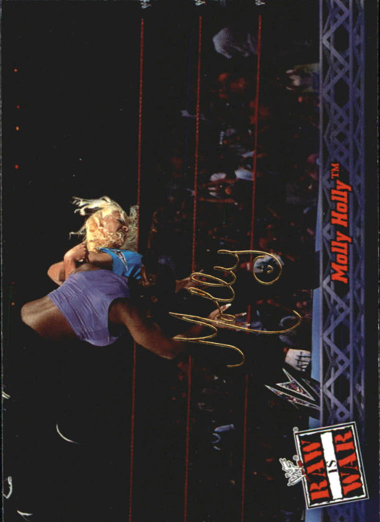 2001 Fleer WWF Raw Is War #24 Molly Holly
