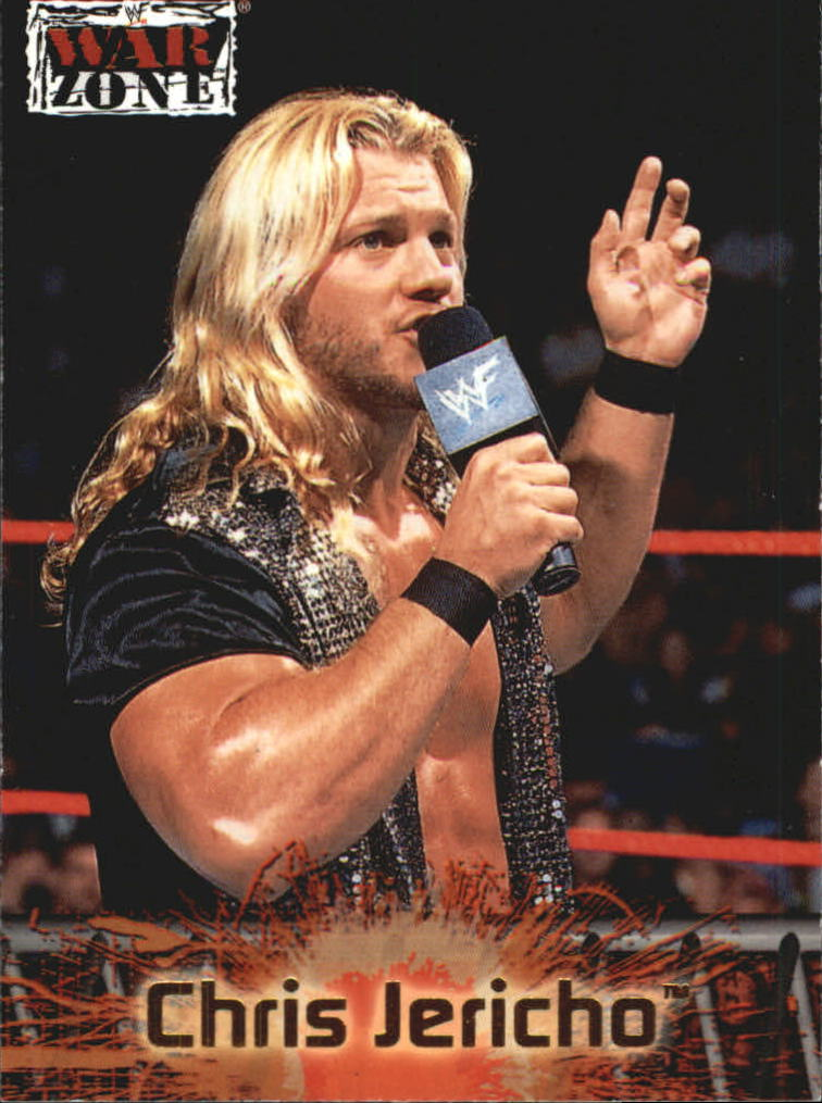 2001 Fleer WWF Raw Is War #50 Chris Jericho
