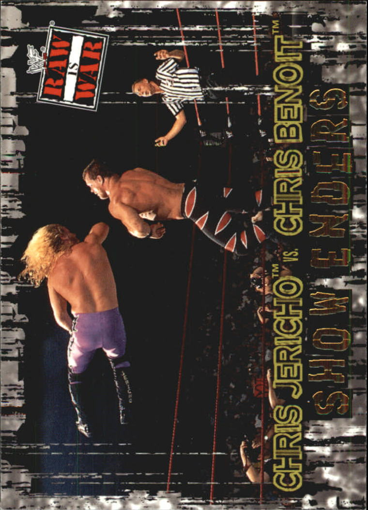 2001 Fleer WWF Raw Is War #94 Jericho/Benoit