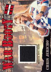 2001 Fleer WWF Raw Is War Booty #WB8 Chris Jericho