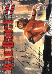 2001 Fleer WWF Raw Is War Booty Autographs #WBA3 Edge