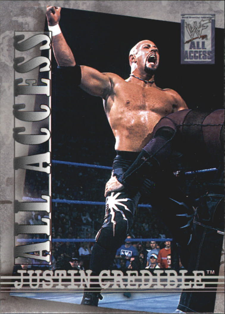 2002 Fleer WWF All Access #1 Justin Credible