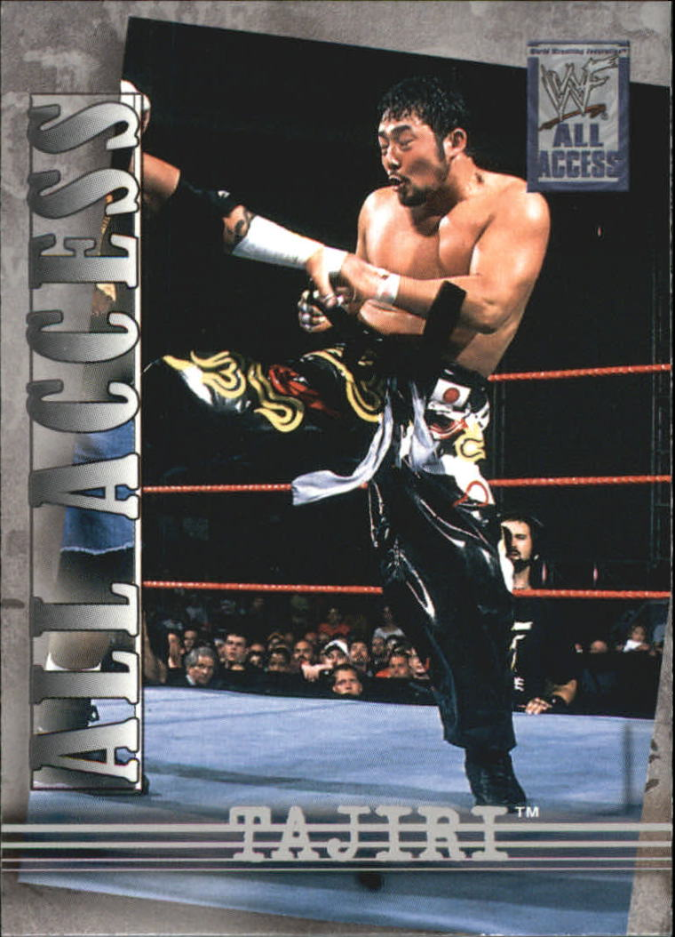 2002 Fleer WWF All Access #3 Tajiri