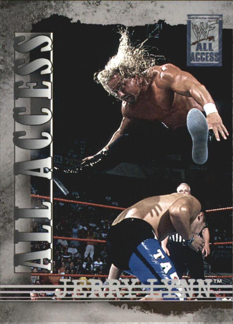 2002 Fleer WWF All Access #4 Jerry Lynn