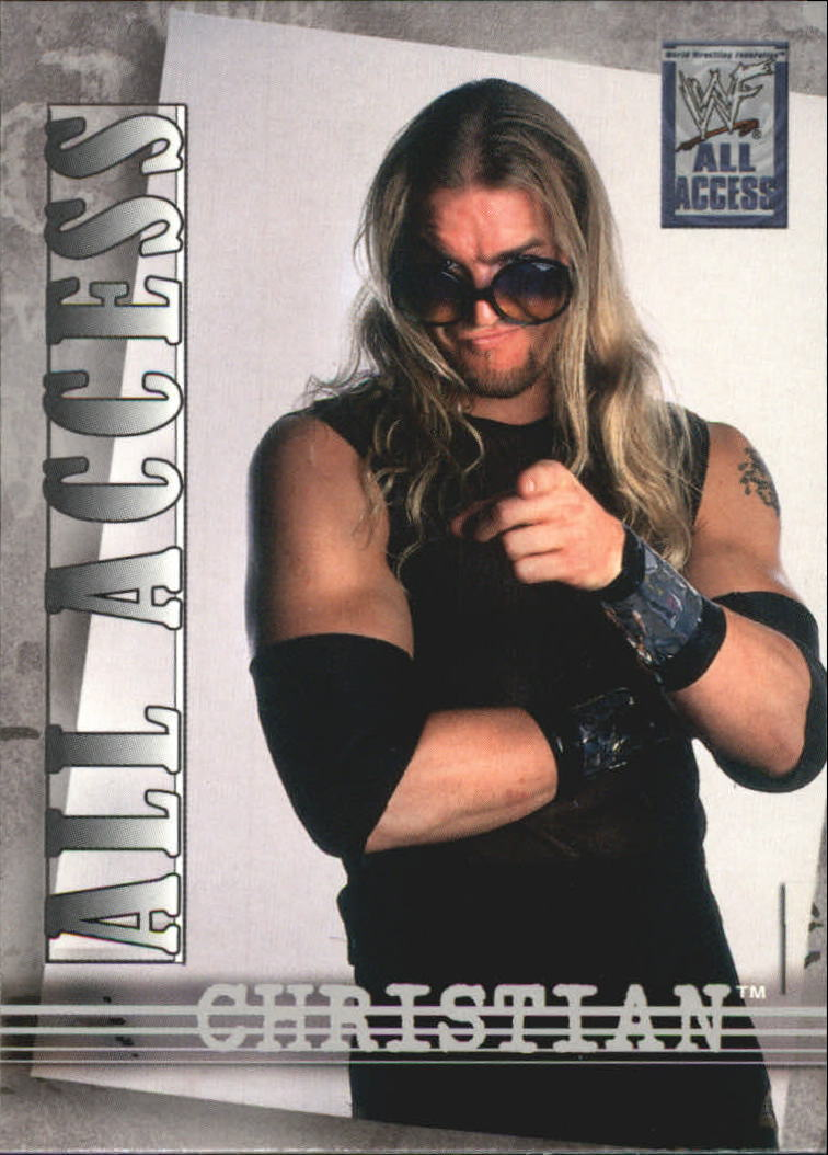2002 Fleer WWF All Access #5 Christian