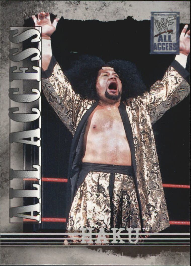 2002 Fleer WWF All Access #6 Haku