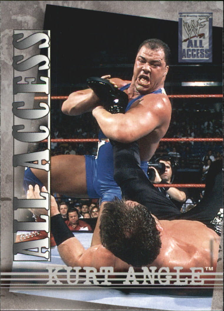 2002 Fleer WWF All Access #7 Kurt Angle