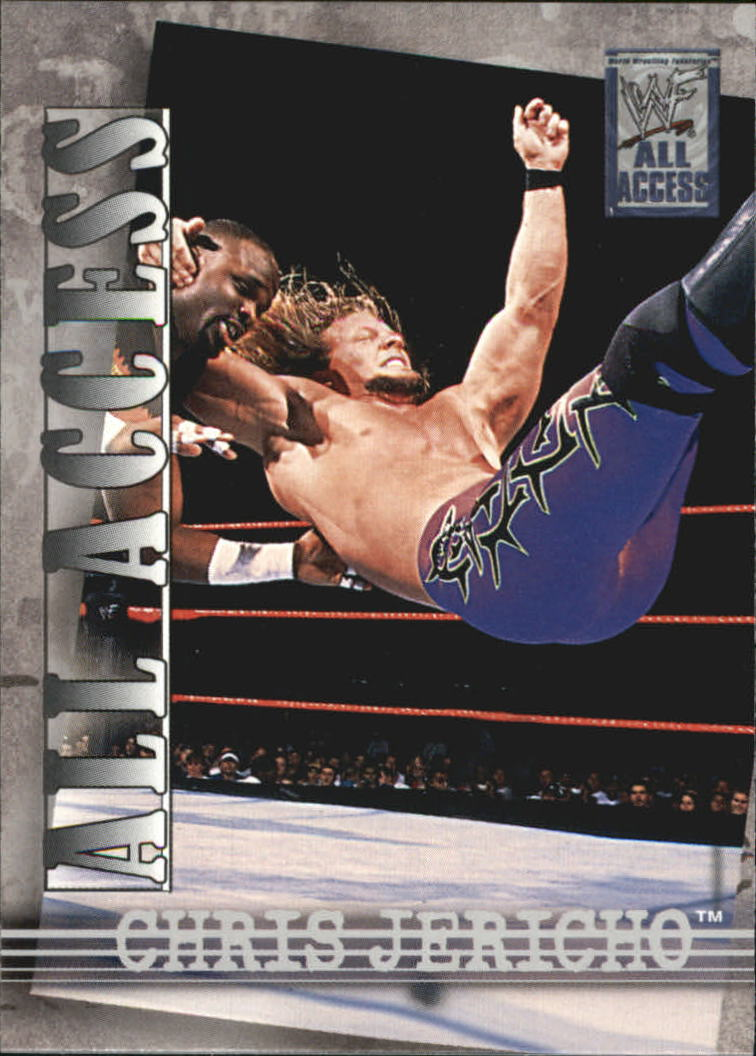 2002 Fleer WWF All Access #9 Chris Jericho