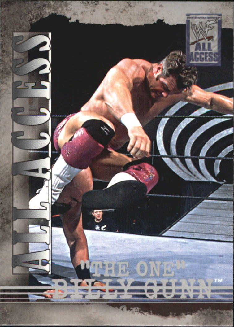 2002 Fleer WWF All Access #12 Billy Gunn