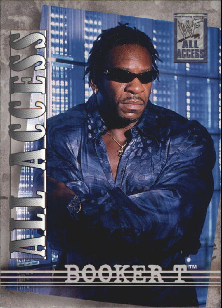 2002 Fleer WWF All Access #13 Booker T