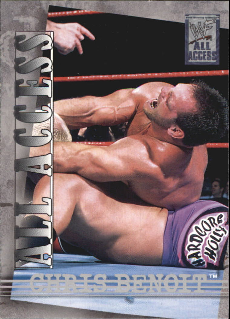 2002 Fleer WWF All Access #15 Chris Benoit