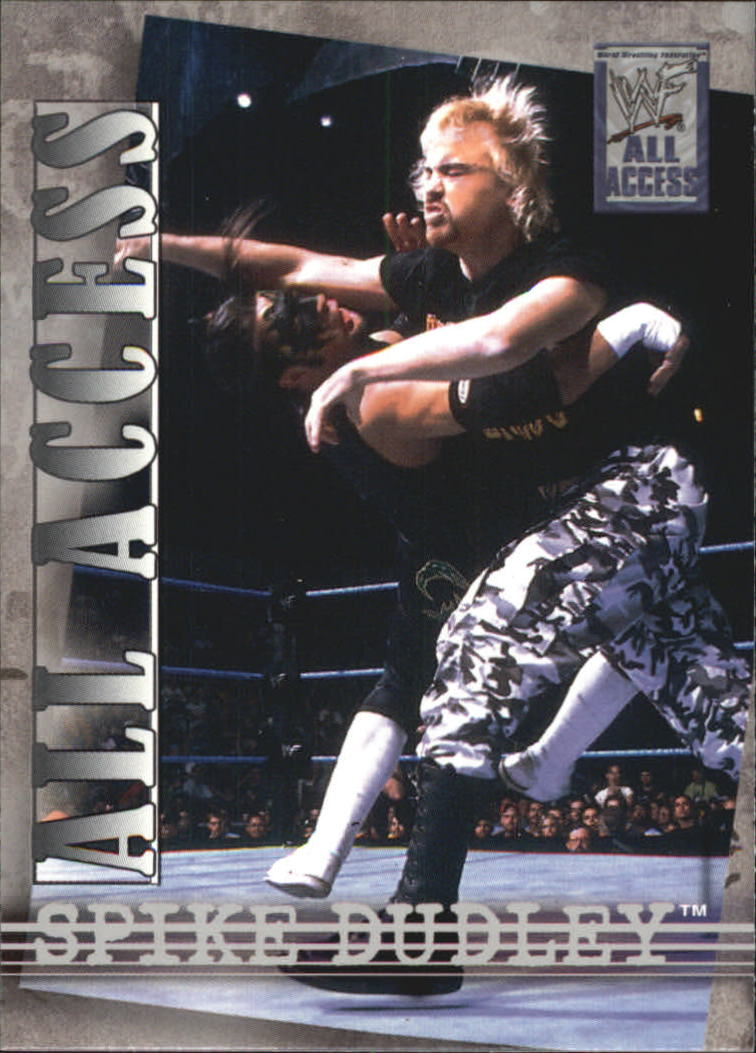 2002 Fleer WWF All Access #29 Spike Dudley