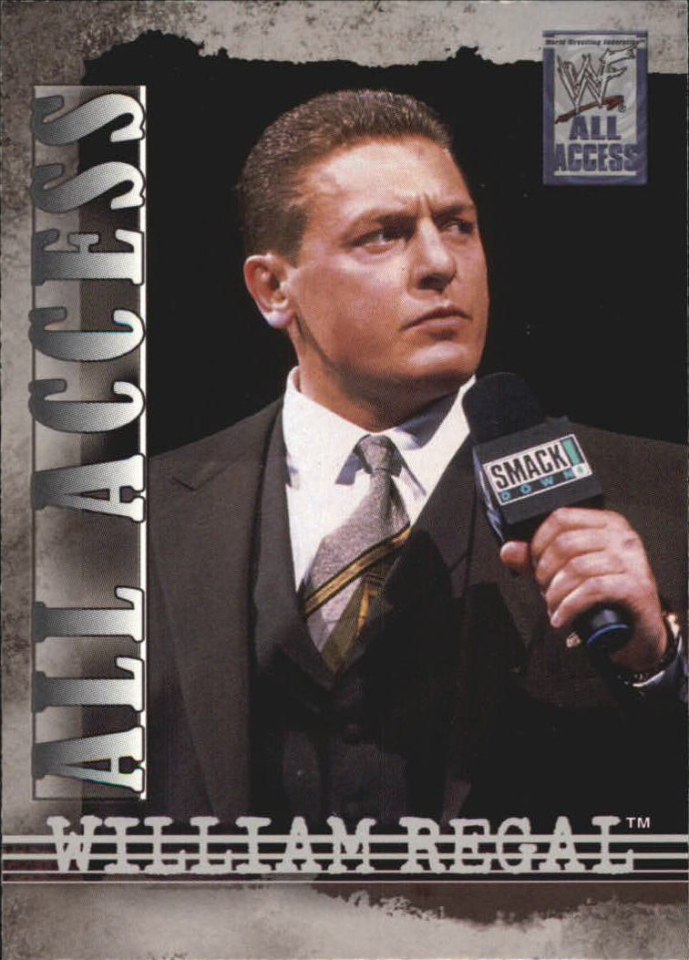 2002 Fleer WWF All Access #30 William Regal