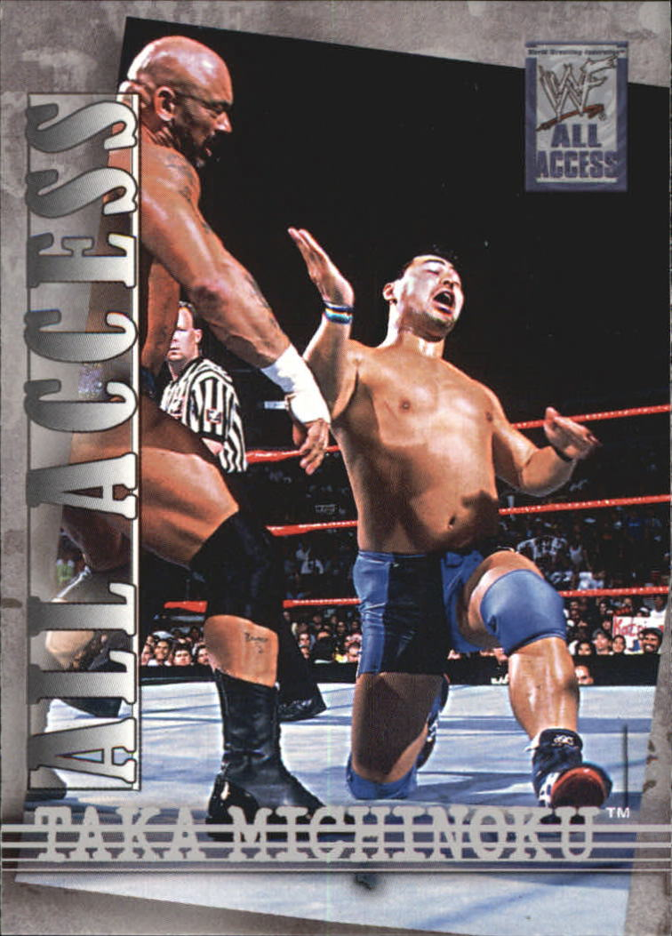 2002 Fleer WWF All Access #31 Taka Michinoku