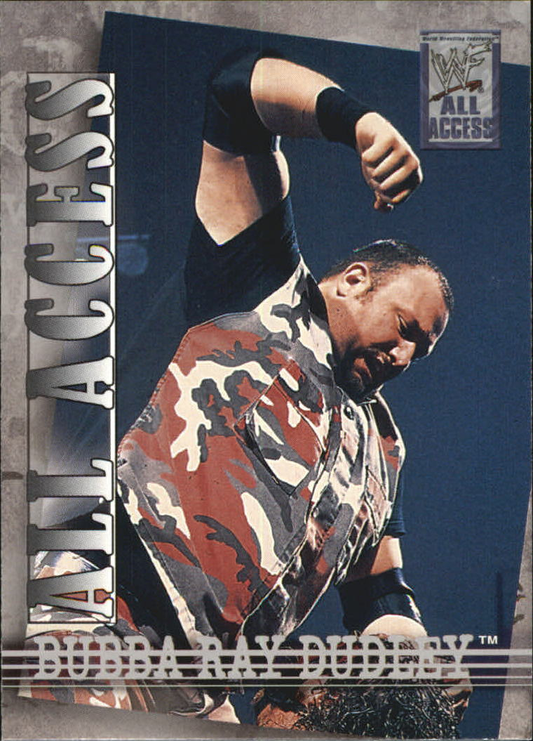 2002 Fleer WWF All Access #37 Bubba Ray Dudley