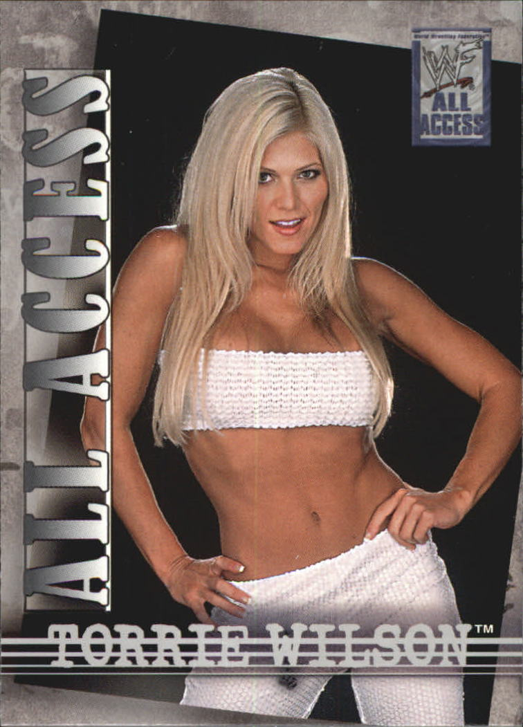 2002 Fleer WWF All Access #43 Torrie Wilson