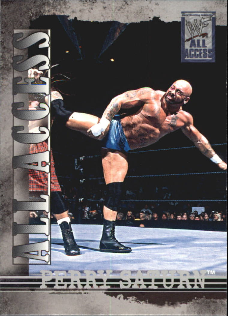 2002 Fleer WWF All Access #44 Perry Saturn