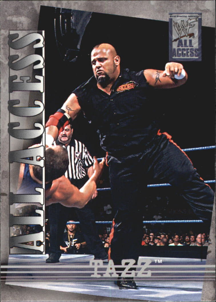 2002 Fleer WWF All Access #49 Tazz