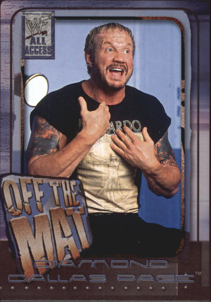 2002 Fleer WWF All Access #63 Diamond Dallas Page OTM