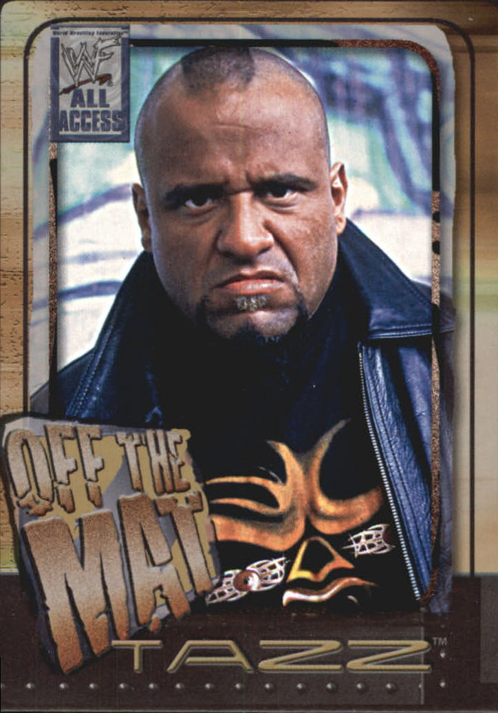 2002 Fleer WWF All Access #72 Tazz OTM