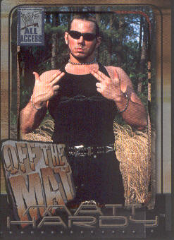 2002 Fleer WWF All Access #78 Matt Hardy OTM