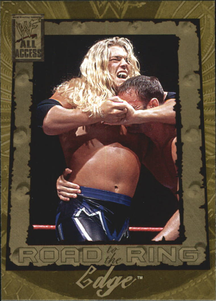2002 Fleer WWF All Access #84 Edge RR